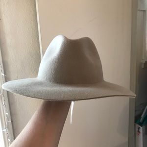 Cream French Connection Hat